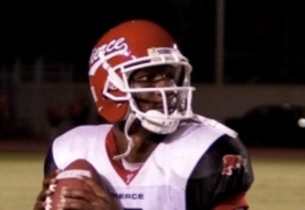 "Clinton ""Juice"" Granger may not be Temple's answer at quarterback in 2011. (Photo credit: Templefootballforever.blogspot.com)"