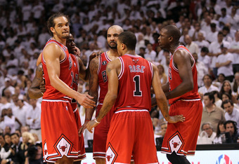 Rose, Noah, Boozer, and Deng--All that is missing is Jason Richardson at shooting guard.