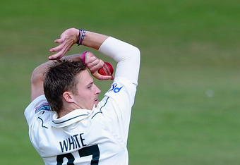 Graeme White's wickets helped Nottinghamshire beat Durham  (Photo by Laurence Griffiths/Getty Images)