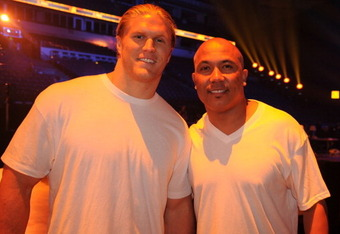 Clay Matthews and Hines Ward