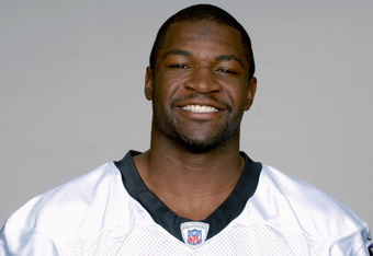 BALTIMORE, MD - CIRCA 2010:  In this handout image provided by the NFL , Mark Clayton  of the Baltimore Ravens poses for his 2010 NFL headshot circa 2010 in Baltimore, Maryland.  ( Photo by NFL via Getty Images)