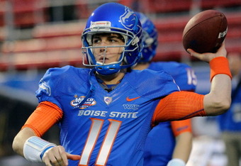 Boise State's QB Kellen Moore will take on Georgia's Aaron Murray this weekend