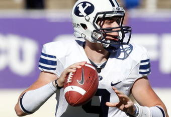 Jake Heaps will lead the BYU Cougars into Vaught-Hemingway Saturday afternoon looking to knock off Ole Miss. Kickoff is at 3:45 on ESPN.