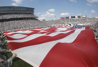 Opening day at Spartan Stadium, 2009.
