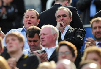 Mike Ashley: not about to win any popularity contests in Tyneside.