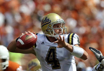 Can Prince throw in the Pistol Offense during the 2011 season?