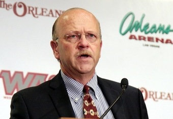 Karl Bension, the commisioner WAC  presided over a 16-team super conference from 1996 to 1998.
