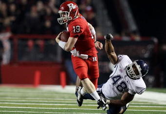 Chas Dodd returns as starting QB for the Rutgers Scarlet Knights