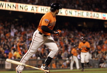 Beltran's homer gave the Giants their first lead