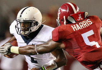 Jerrell Harris got a taste of the Nittany Lions in 2010, but expect him to eat the whole cat on Saturday.