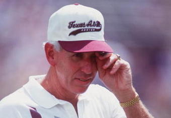 The Aggies with a regular shot at a national title?  It would bring a tear to RC Slocum's eye...