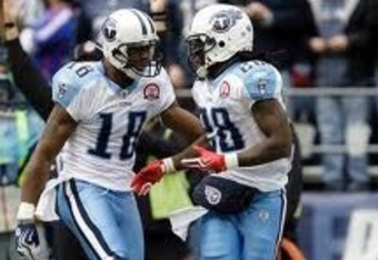 Kenny Britt and CJ, the two premiere playmakers for the Titans