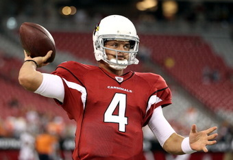 Is Kevin Kolb the answer in Arizona? I dont know. But he sure sounds a lot better than Derek Anderson.