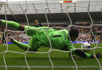 Michael Vorm has been sensational for Swansea