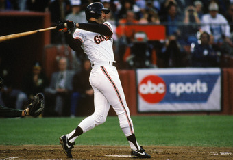 Will Clark in the 1989 World Series