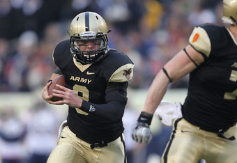 Trent Steelman leads Army option offense