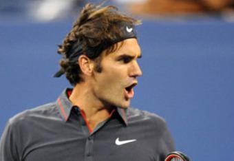 Federer pumped up