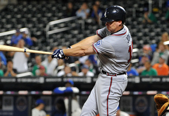 Chipper Jones leads another generation of Braves to the playoffs.