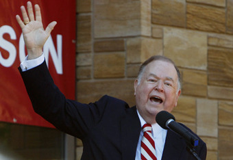 Is David Boren waving good bye to the Big 12?
