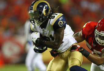 The Rams had high hopes for Mardy Gilyard.