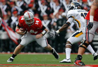 He may not win Ohio State a lot of games, but Joe Bauserman won't lose them many, either.