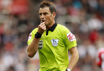 Referee Mark Clattenburg found himself in the spotlight for the wrong reasons, during Liverpool's 1-0 loss to Stoke City at the Brittania Stadium