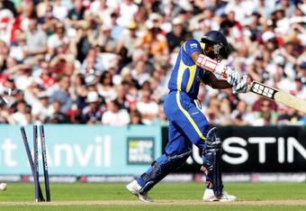 Kumara Sangakkara: Hussey's Third Test scalp