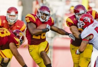 USC RB Marc Tyler ran for 113 yards on 24 carries in his first 2011 game against Utah