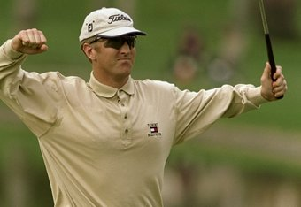 David Duval Eagles Last Hole for 59