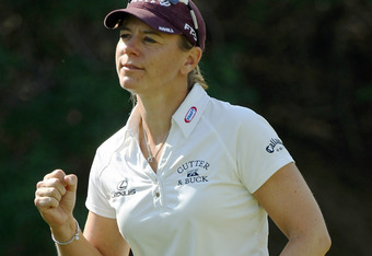 Annika shoots 59 at 2001 Standard Register Ping