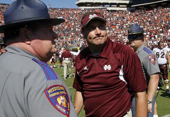 Mississippi State head coach Dan Mullen.