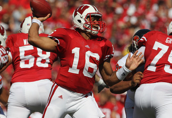 Wisconsin Quarterback Russell Wilson