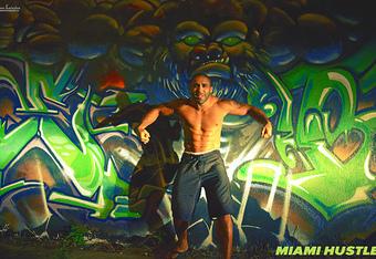Miami Hustle...where MMA and Art coexist in perfect harmony