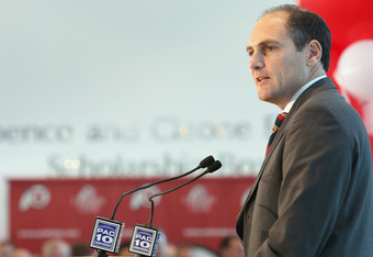 Pac 12 Commissioner Larry Scott has a different agenda for past rivalaries
