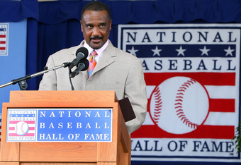 Jim Rice during HOF Induction Speech