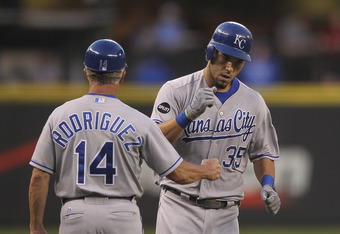 Eric Hosmer is one of the many young studs the Royals have waiting in the wings.