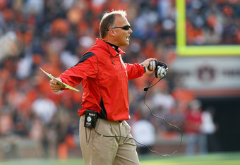 Coach Mark Richt says his Bulldogs have improved each week
