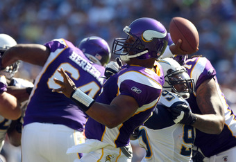 Donovan McNabb will look to get the Vikings passing game going in this weekends home opener.