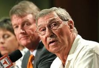 Plonsky, Powers and Dodds (l-r).  Texas will reveal the fate of college football on Monday.
