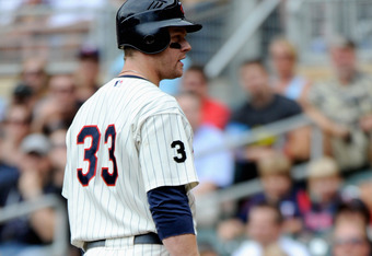 It's been a lost year for slugger Justin Morneau.