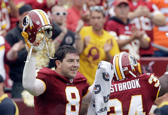 Rex Grossman leads the 2-0 Redskins into Dallas on Monday Night Football.