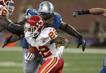 McCluster Will Have to Spell Thomas Jones
