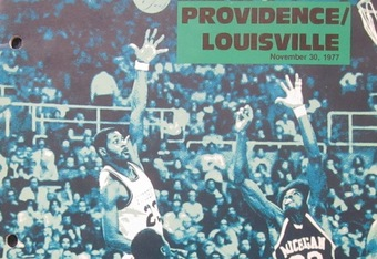 1977 Game program (With permission Providence College)