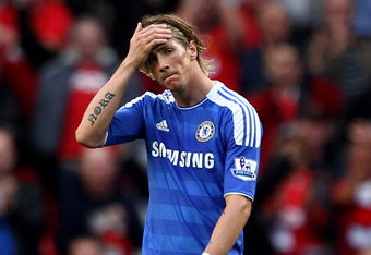 Torres was left to rue his terrible miss