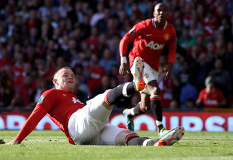 Rooney Slipped While Taking His Spot-Kick