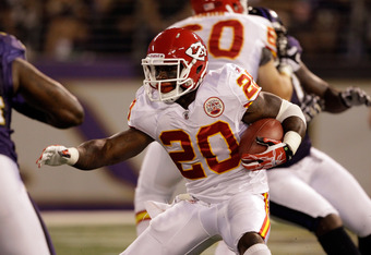 Thomas Jones might still have it in him, but McCluster might be the guy, too.