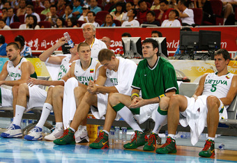 Lithuania finished fifth in a Eurobasket it hosted.  Can it finish in the top three of the Olympic qualifying tournament?