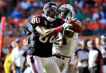 Look for a huge game from Andre Johnson next week against a suspect Saints secondary.