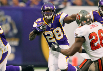 Another big game from Adrian Peterson couldn't keep the Vikings from squandering another lead.