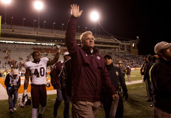 Coach Mike Sherman and the rest of Texas A&M's athletic programs will be waving good-bye to the Big 12 by the end of the school year.